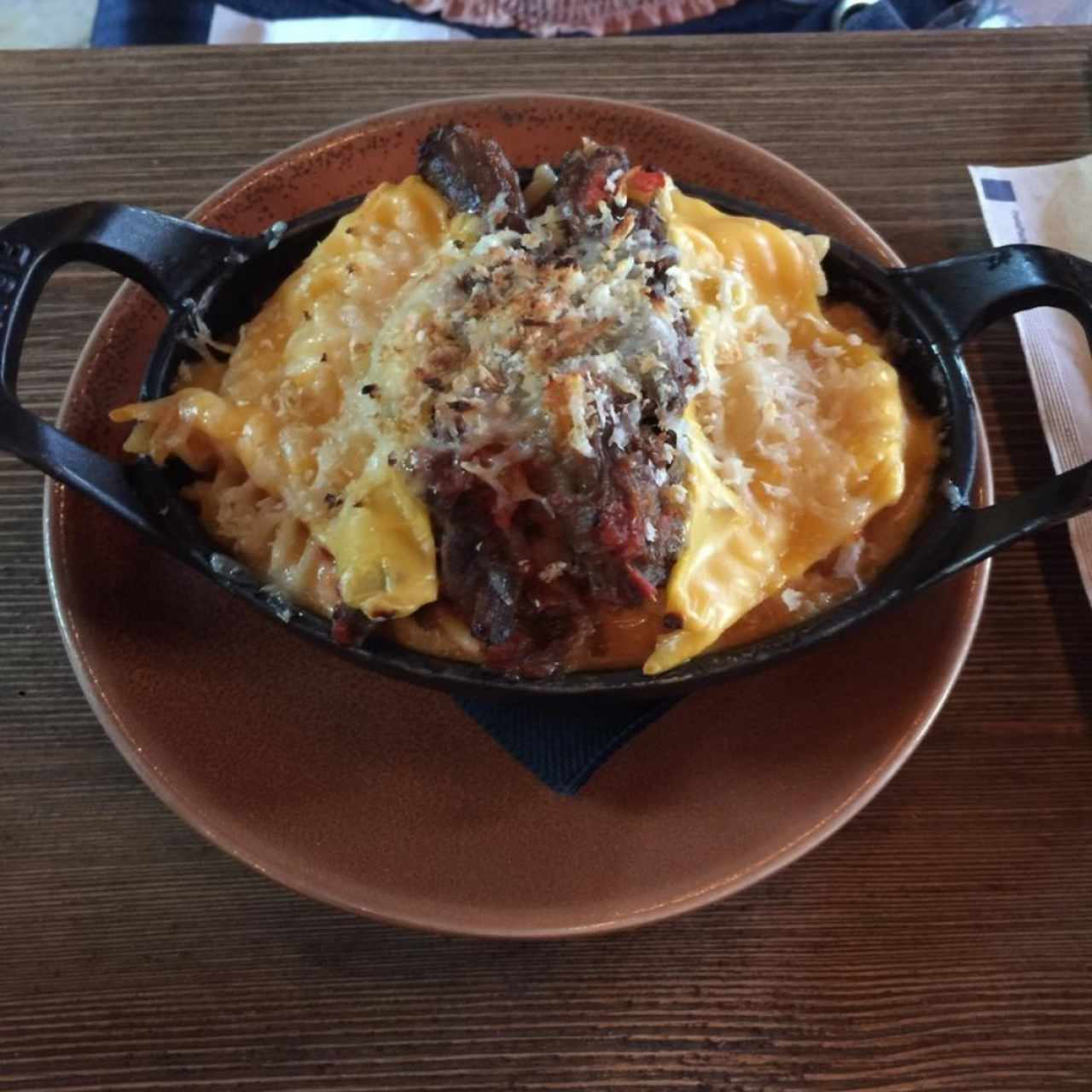 Oxtail Mac and Cheese