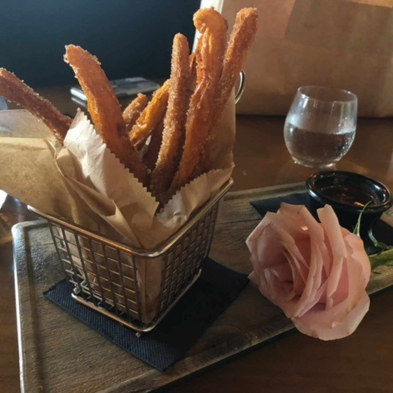 SWEETS - Sweet Potato Churro(sin rosa!)