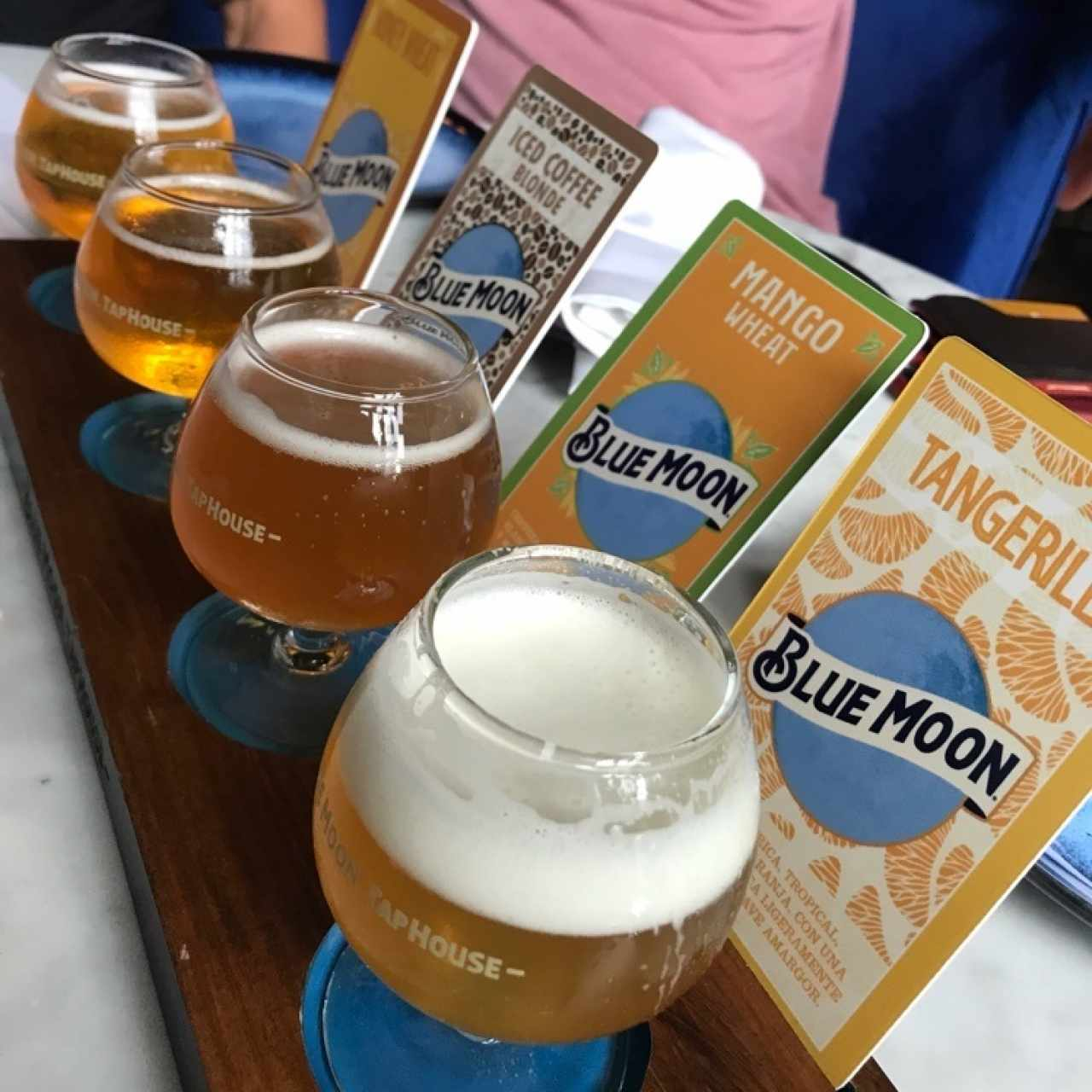Blue Moon Beer Sampler