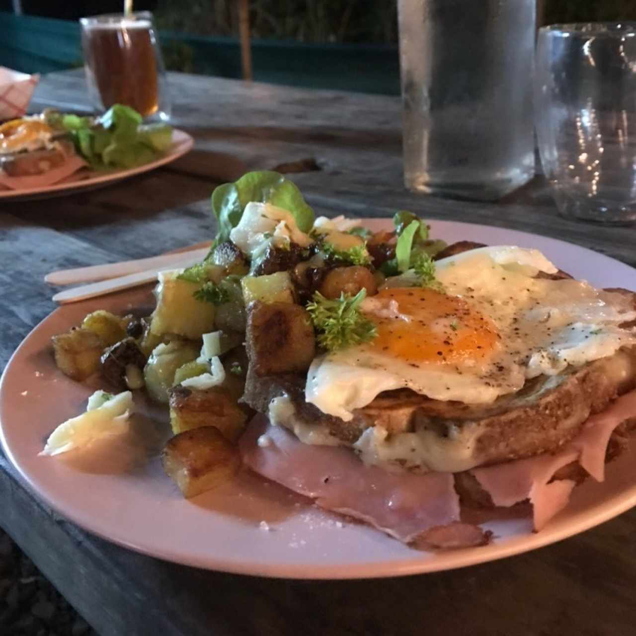 crocque madame