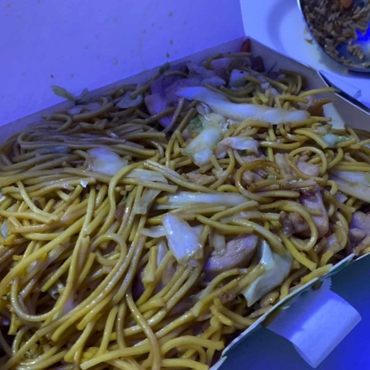 Platos Especiales - Chow Mein