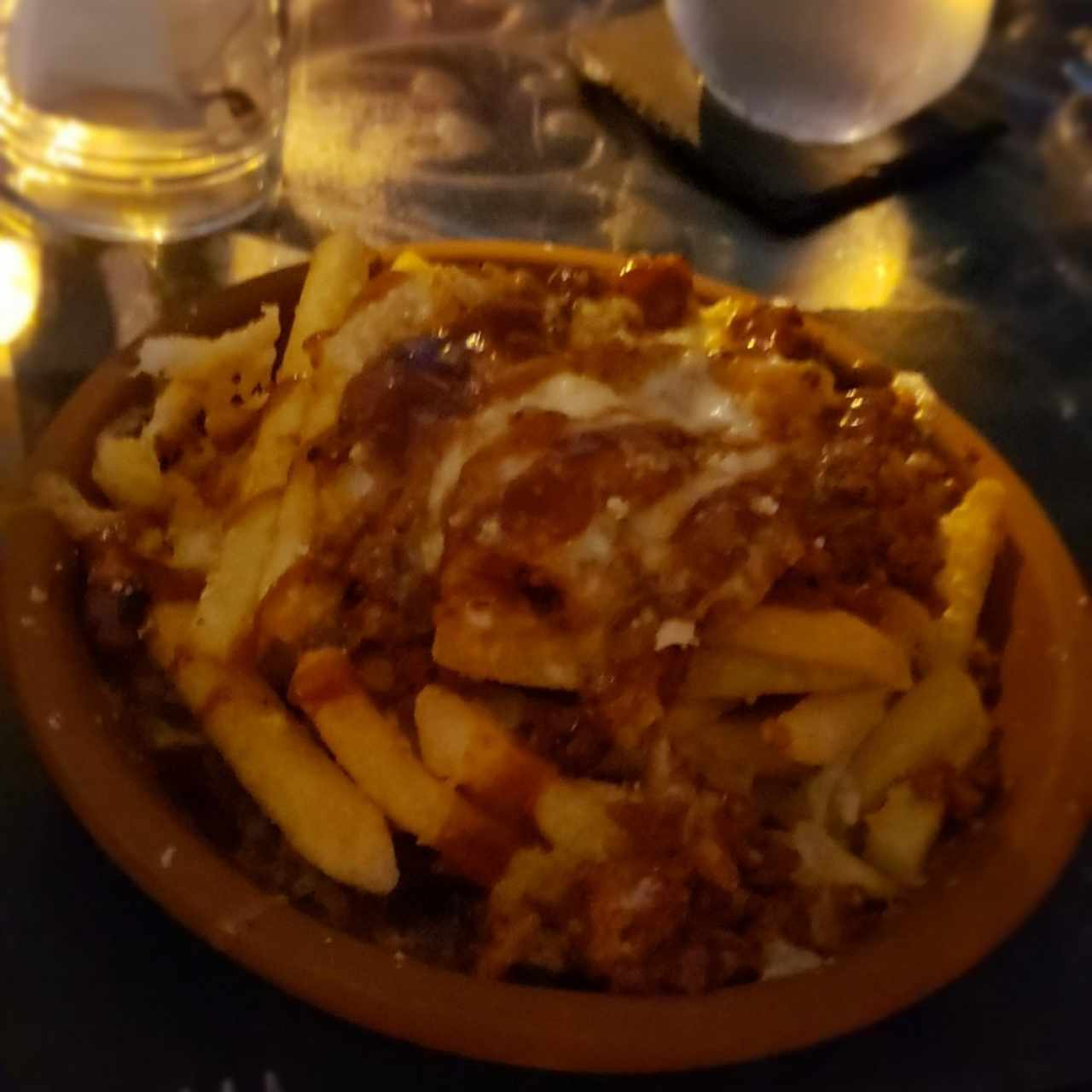 Poutine in The Street