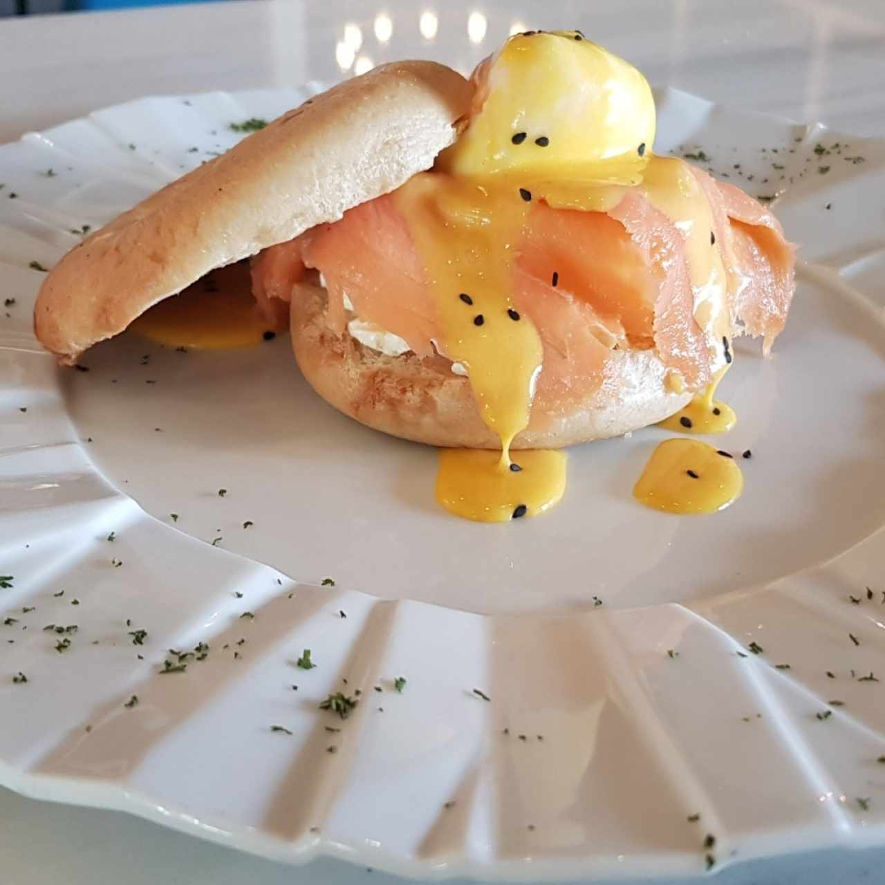 Bagel Benedictino