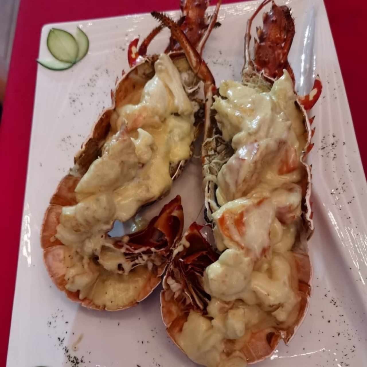 Langosta big lobster