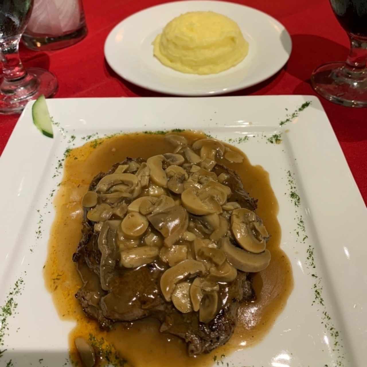Filet Mignon con puré de papas