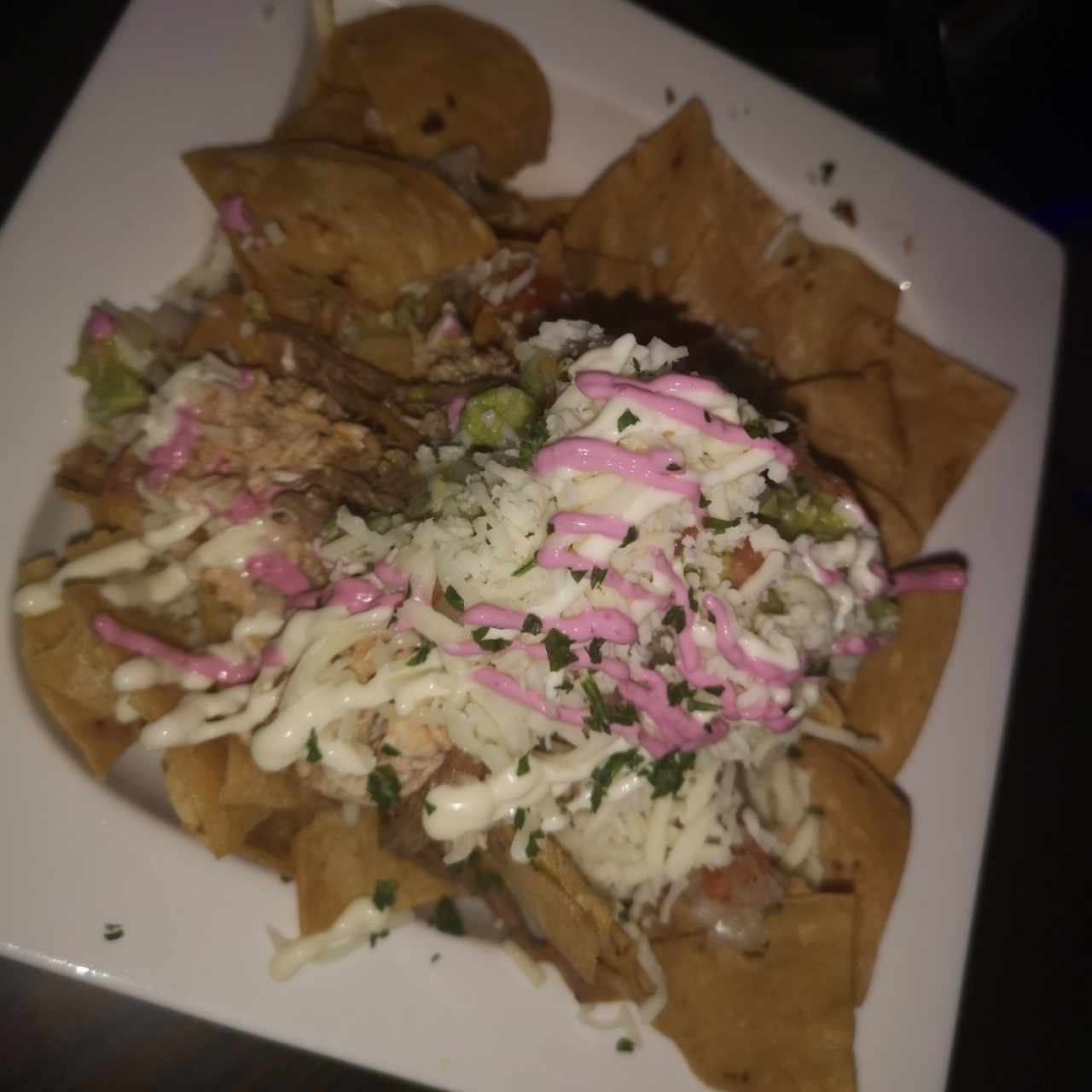 Nachos (1/2 porcion)