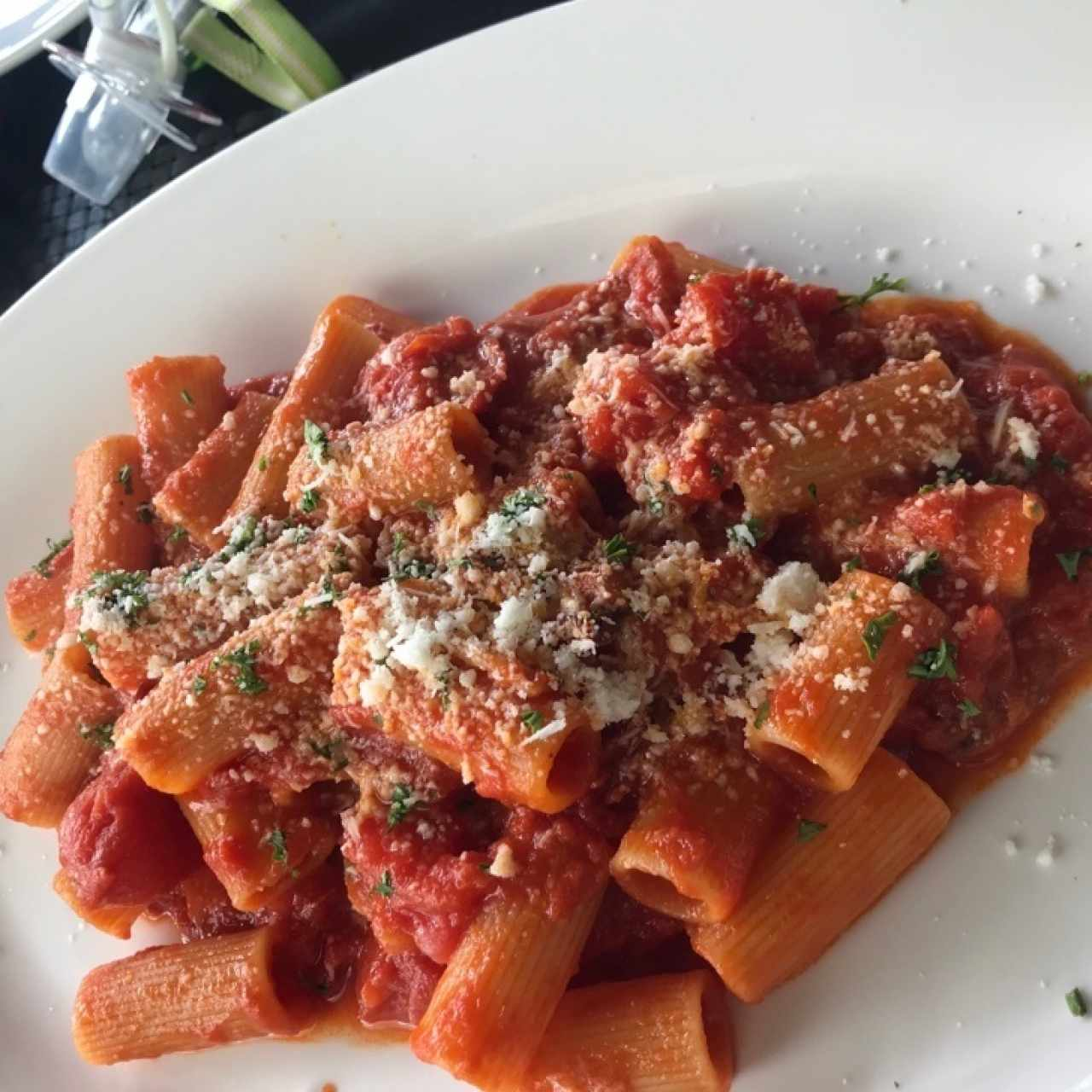 Rigatoni all' Amatriciana