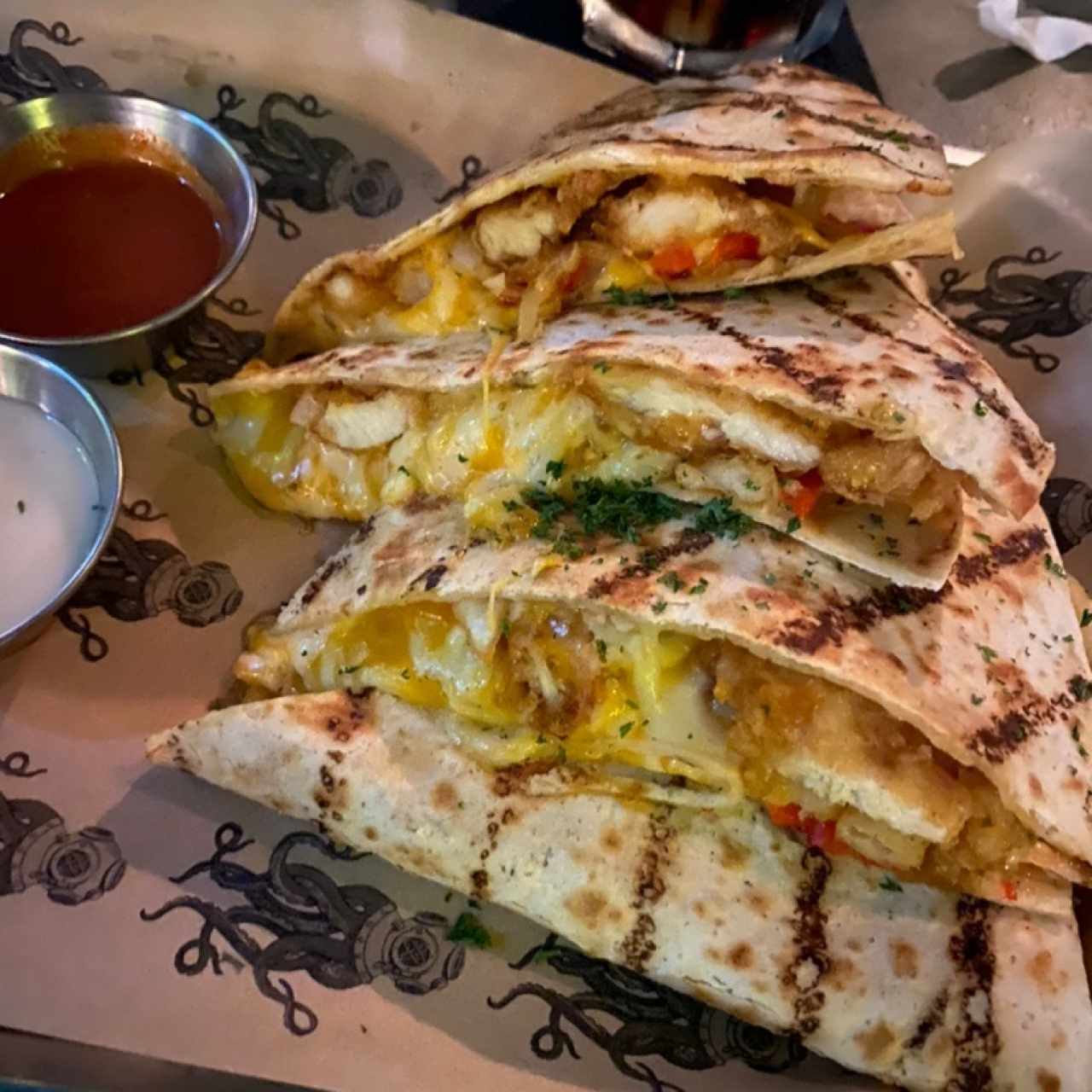 Platos Principales - Chicken Quesadilla