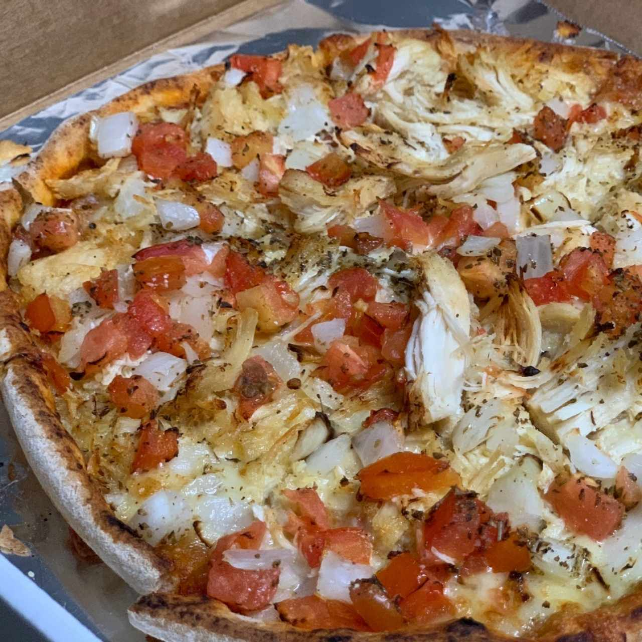 Pizza de pollo rspecial