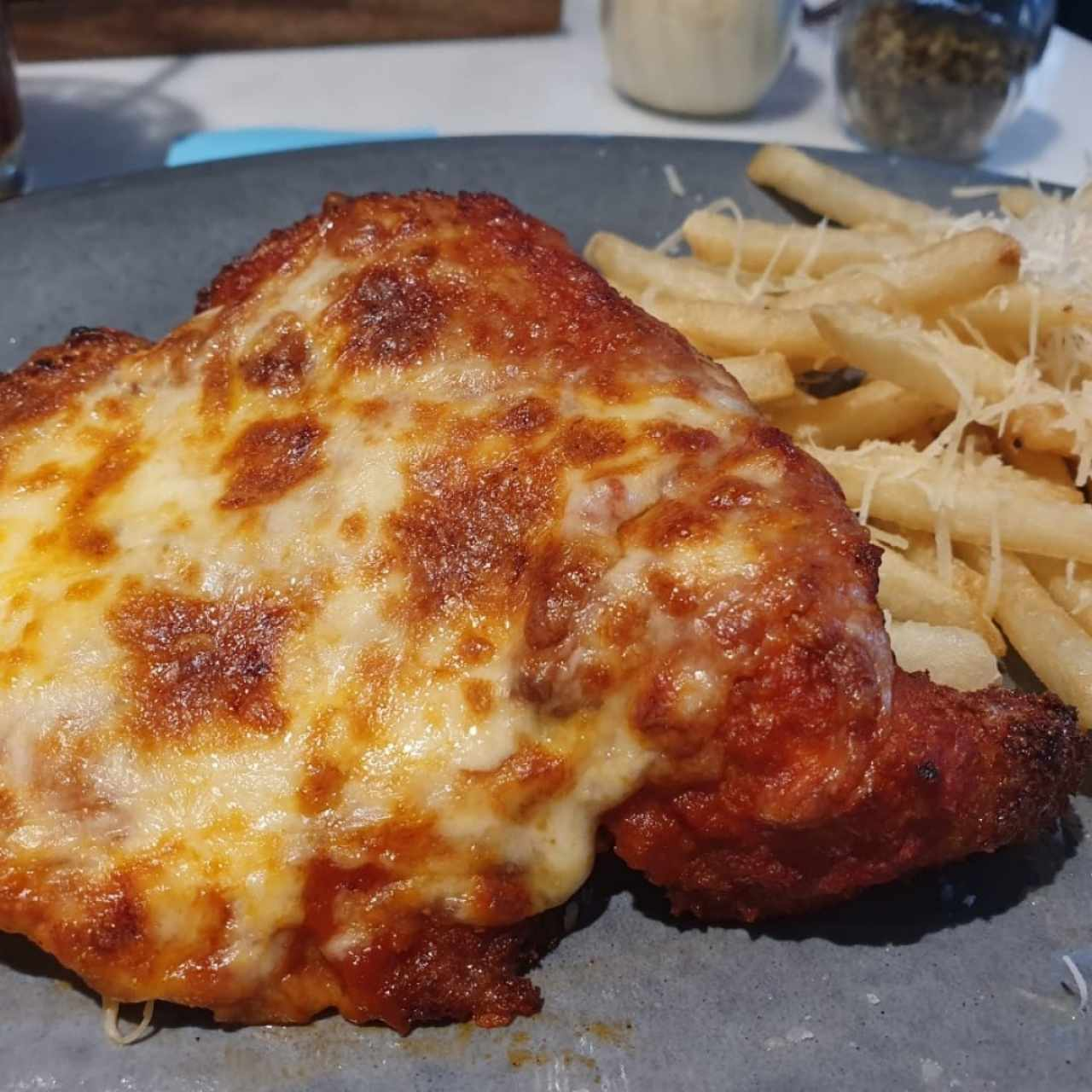Mounster chicken parmigiana