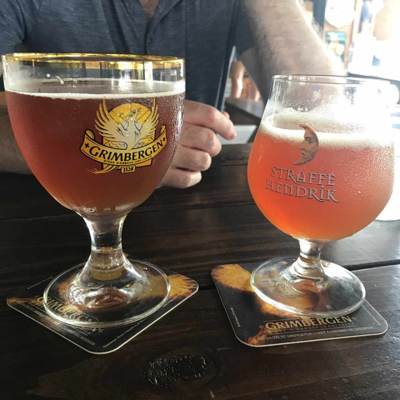 straffe hendrick and maredsous tripel