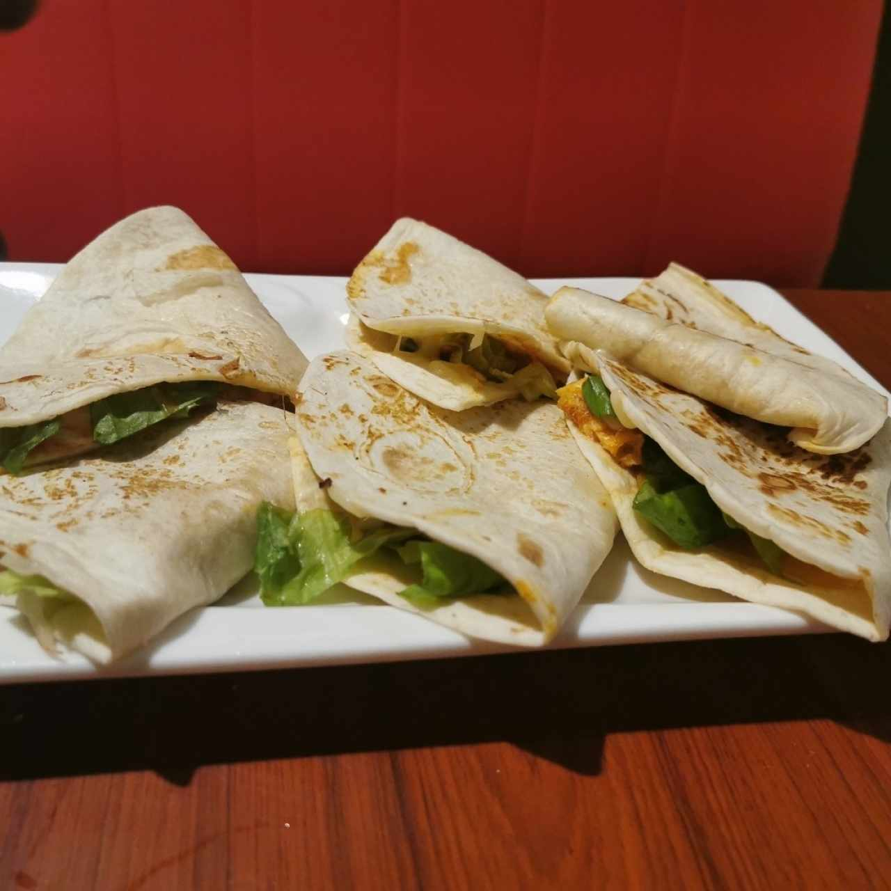 Quesadillas de Carne o Pollo
