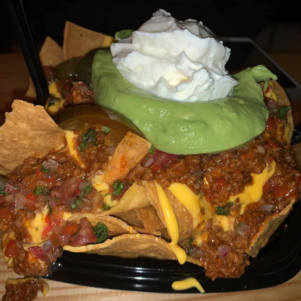 nachos casco burger