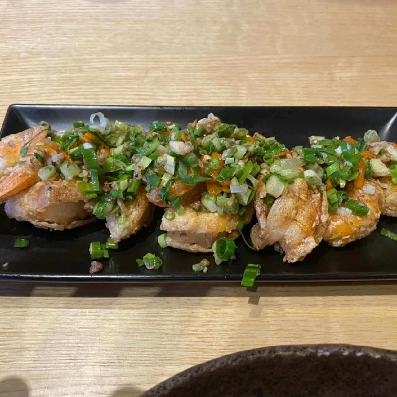 Spicy Fried Ebi! Perfecto!!!