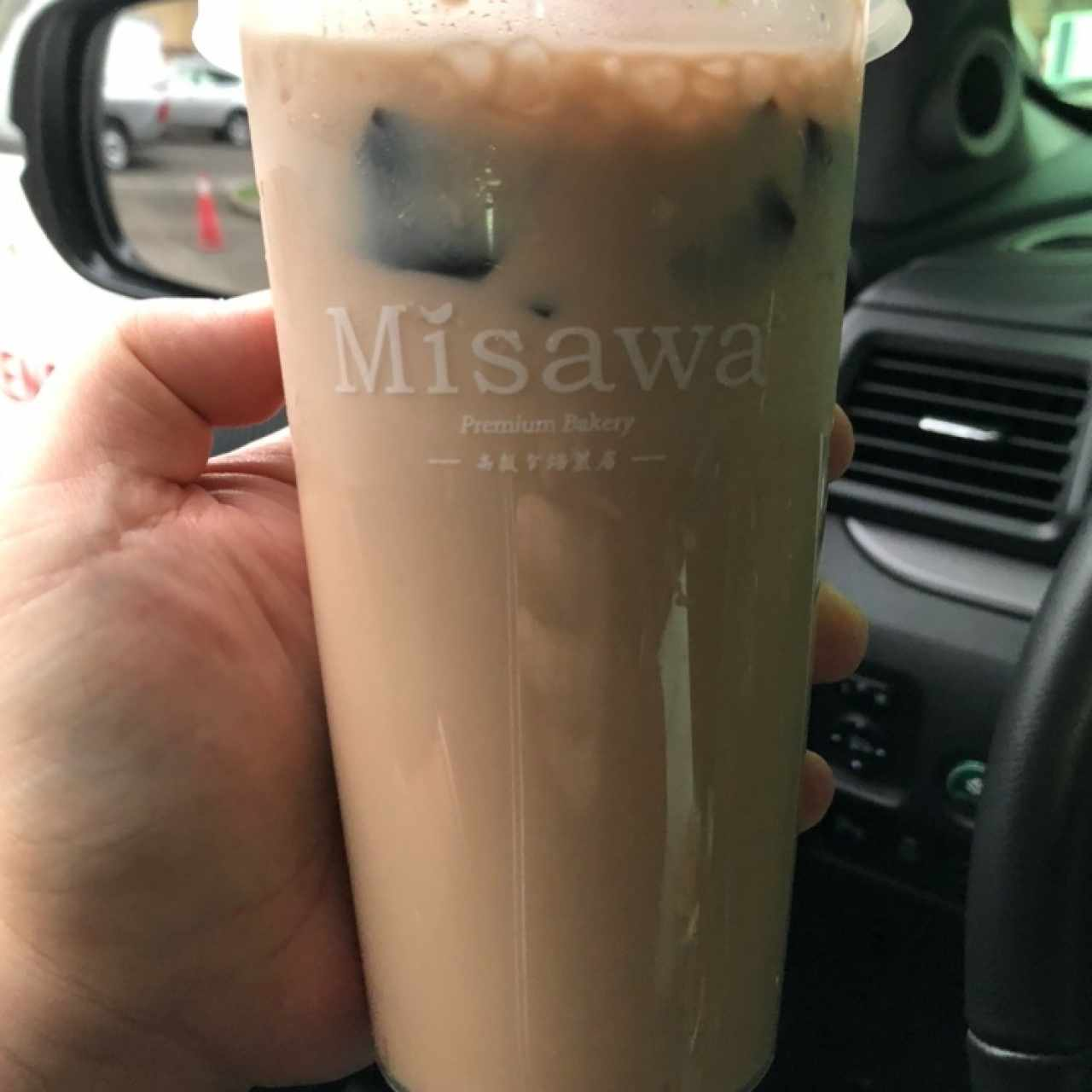 Bubble Tea - Grass Jelly Milk