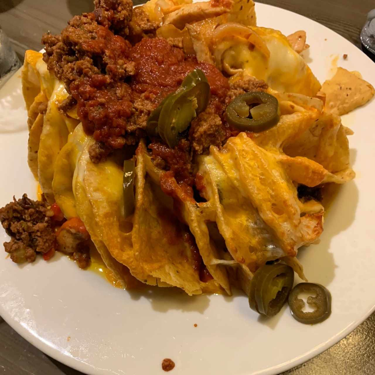 super nachos mixtos
