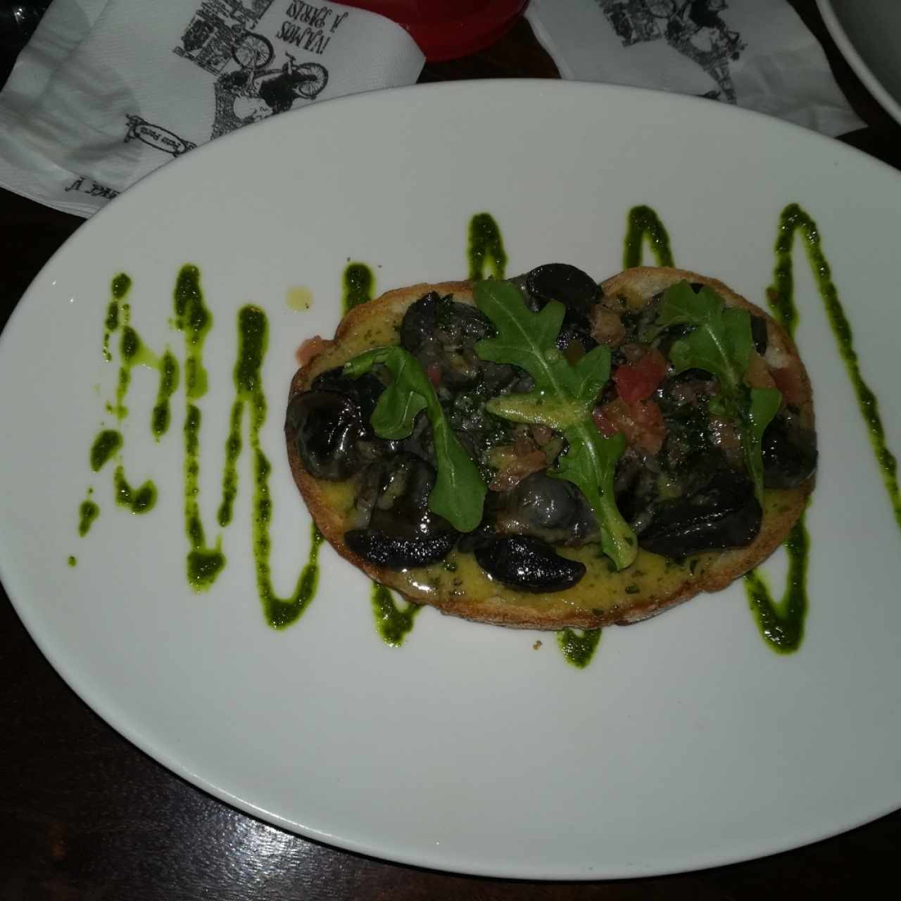 brochetas de escargot