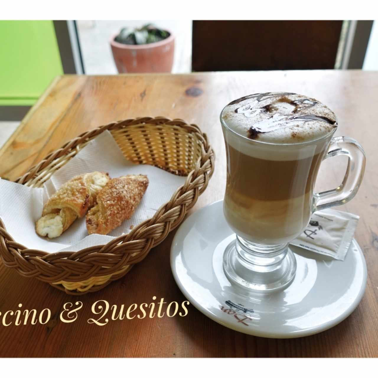 Capuccino y quesitos