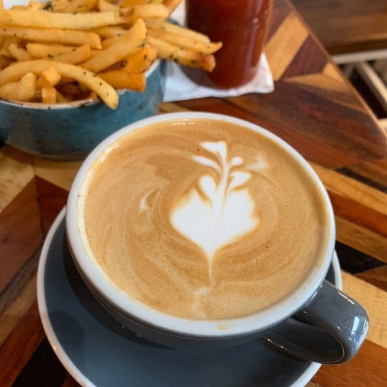 Capuccino & Fries