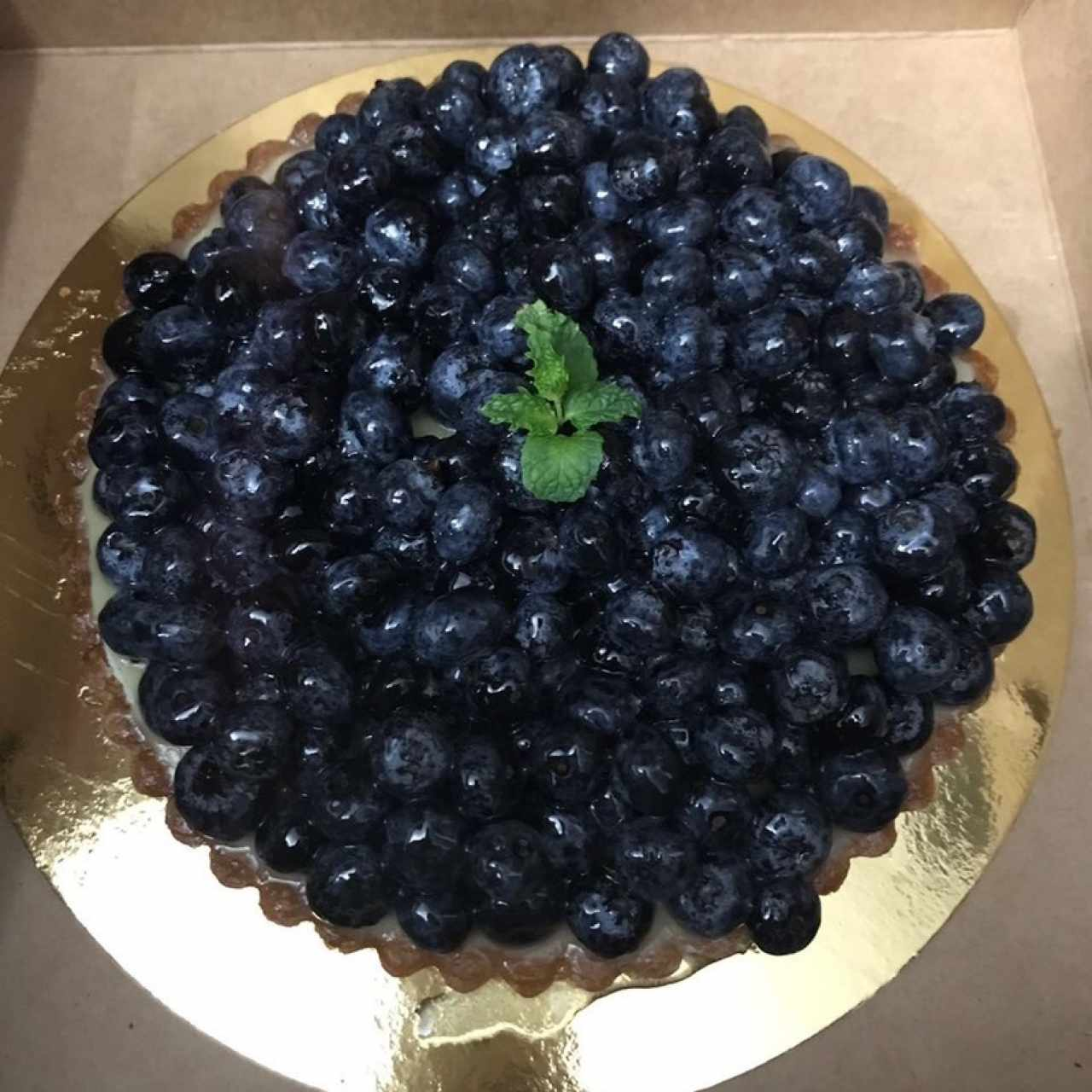 Tarta de blueberry