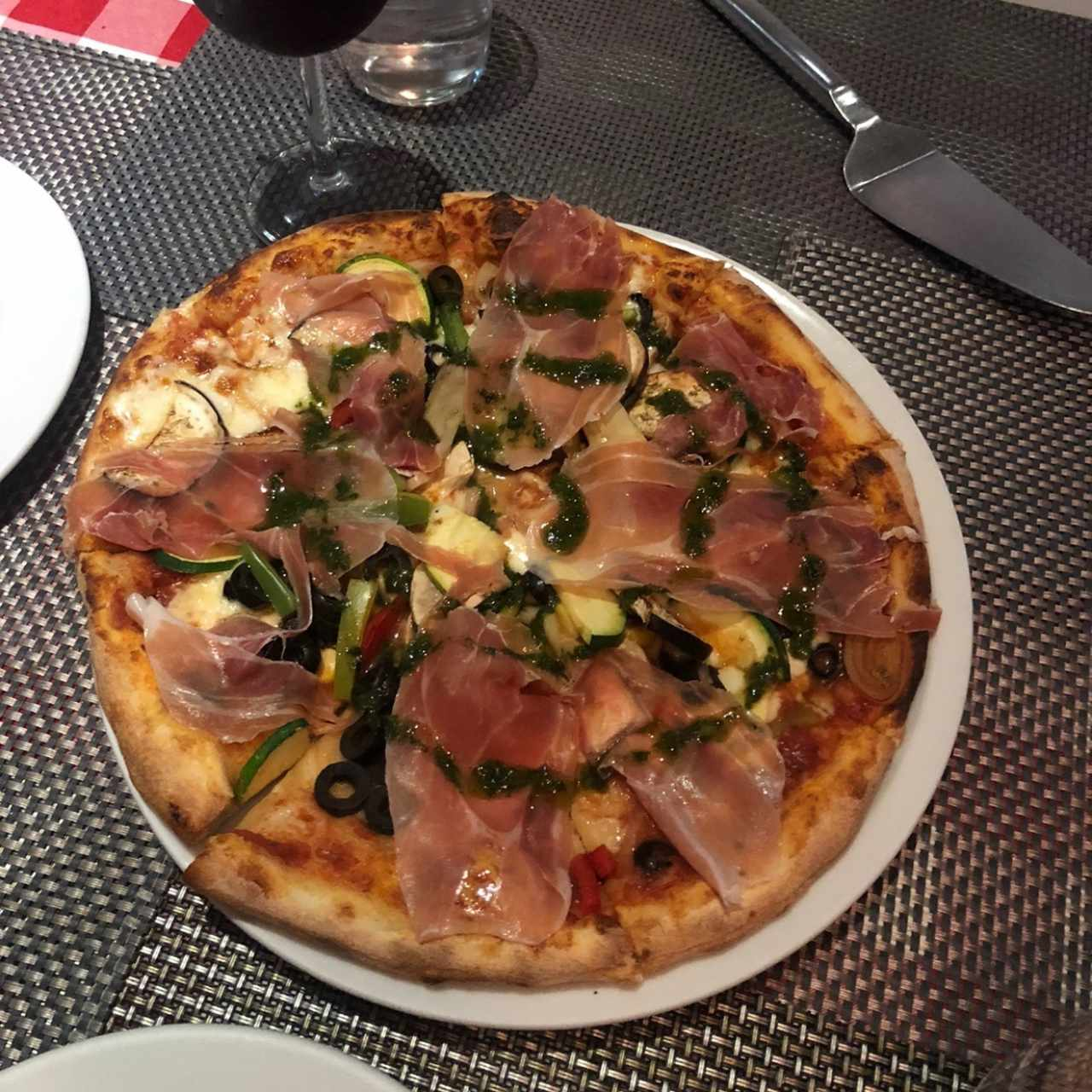 Pizza Mediana - Pizza Vegetale