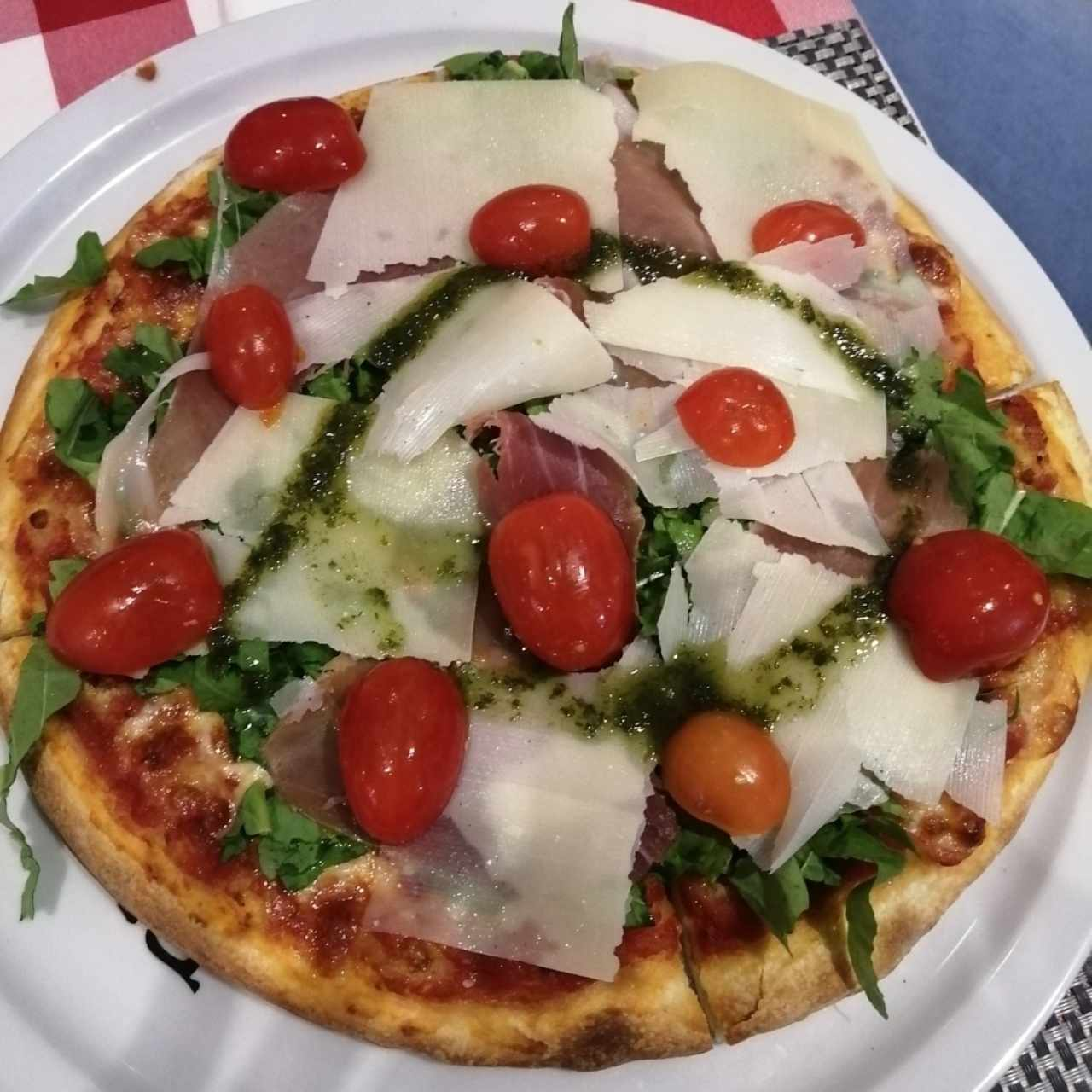 Pizza rucola, personal
