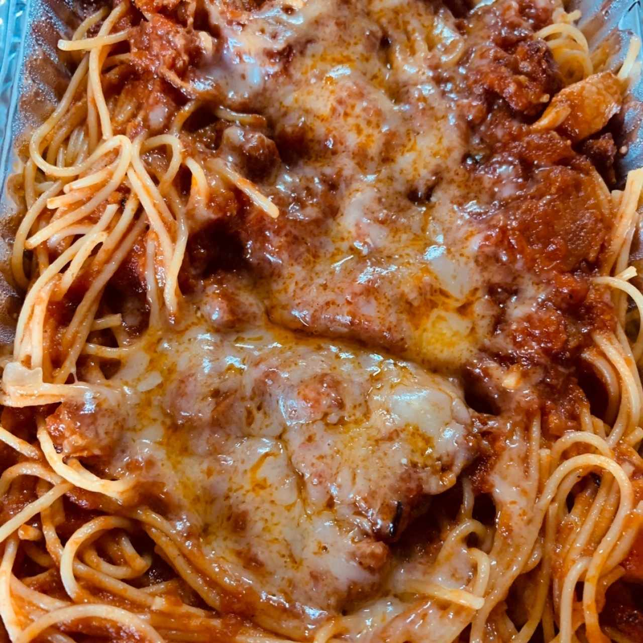 Spaghettini all'Amatriciana