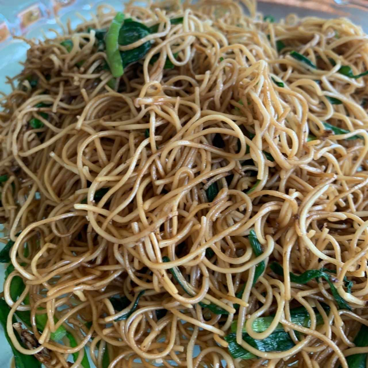 fideo con salsa china