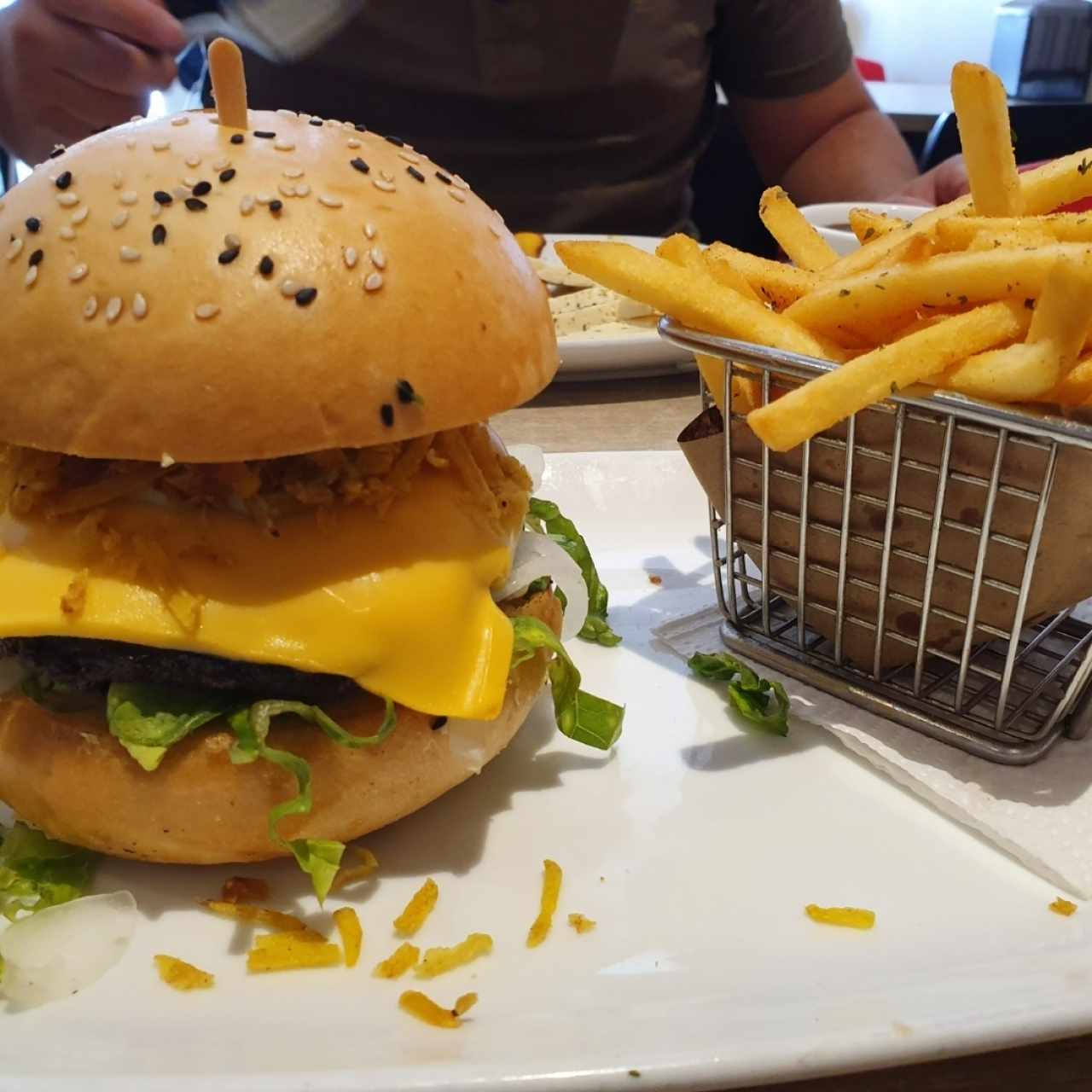Hamburguesas - Cheese burger