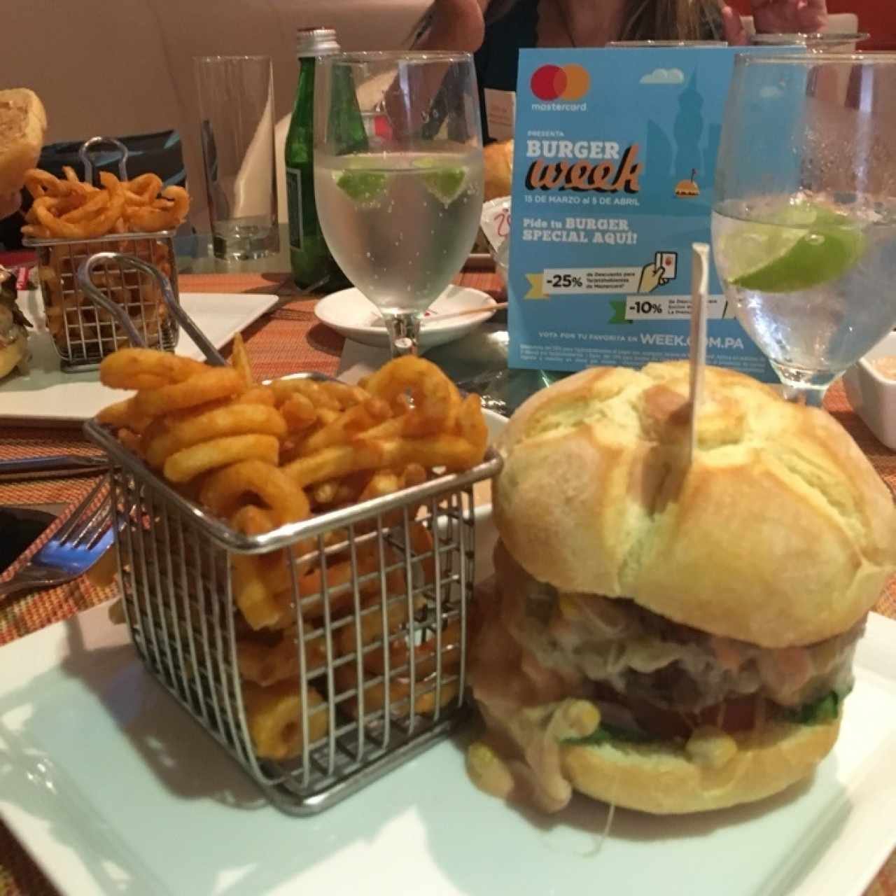 Hamburguesa del Burger Week