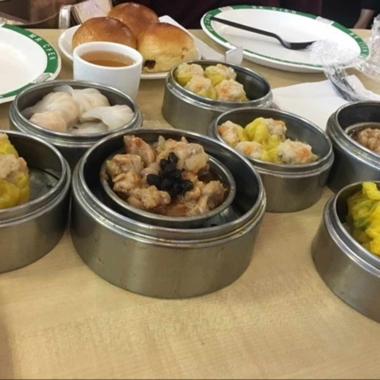 Costillas, Siu Mai , Ha kao