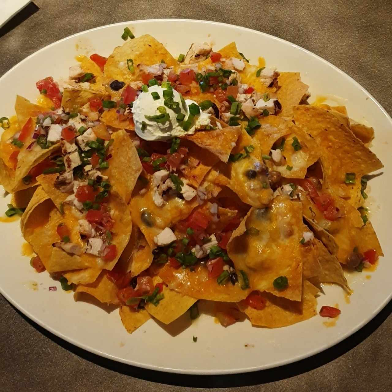 Hard Rock Nachos con Pollo