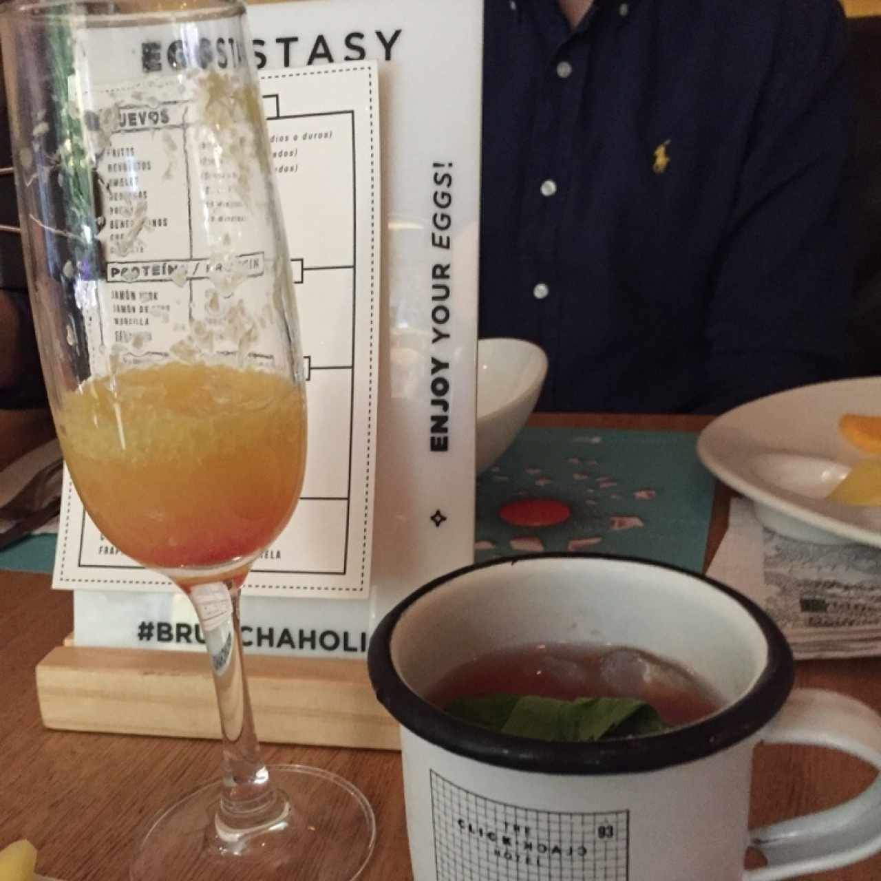 mimosa y Bloody Mary