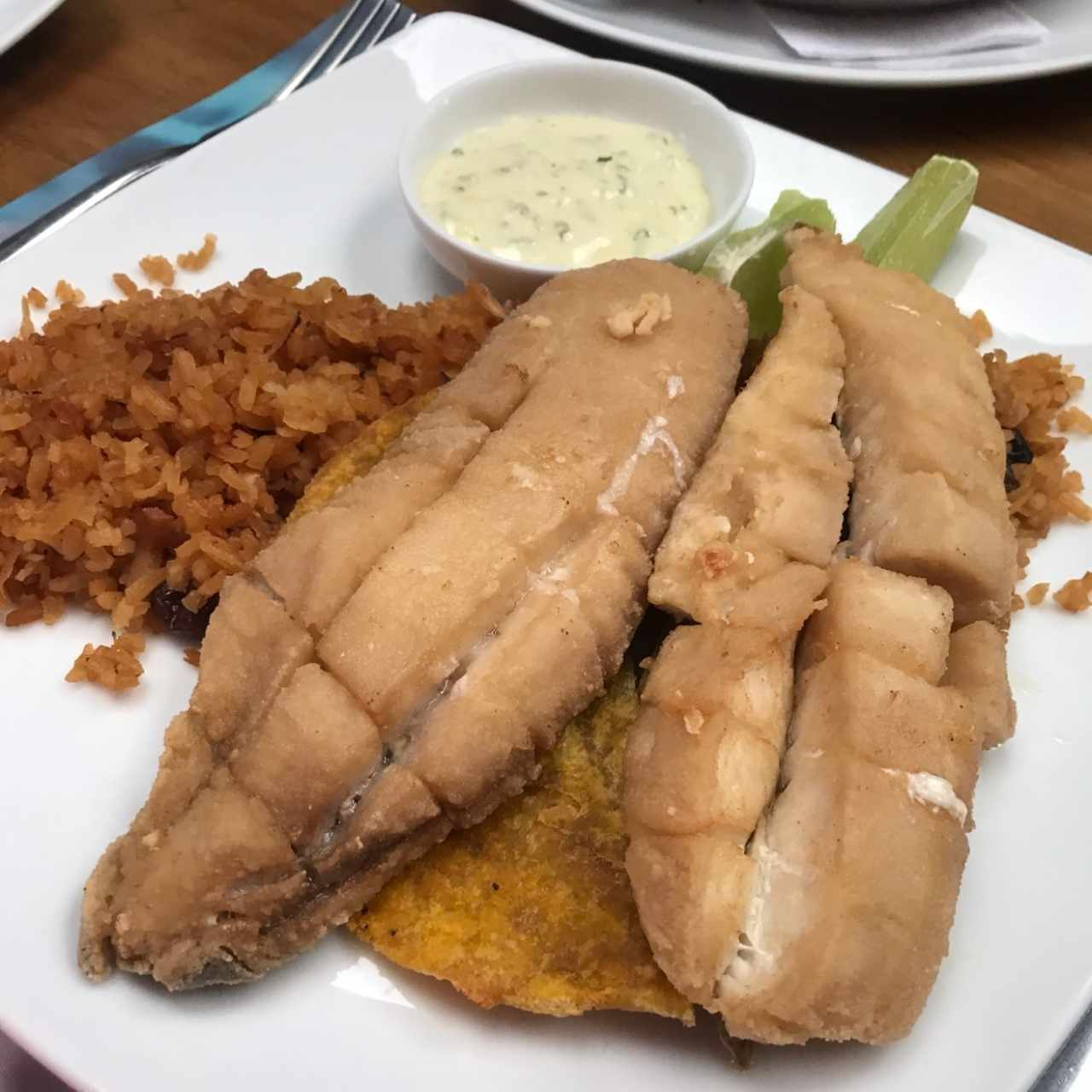 chicharron de tilapia