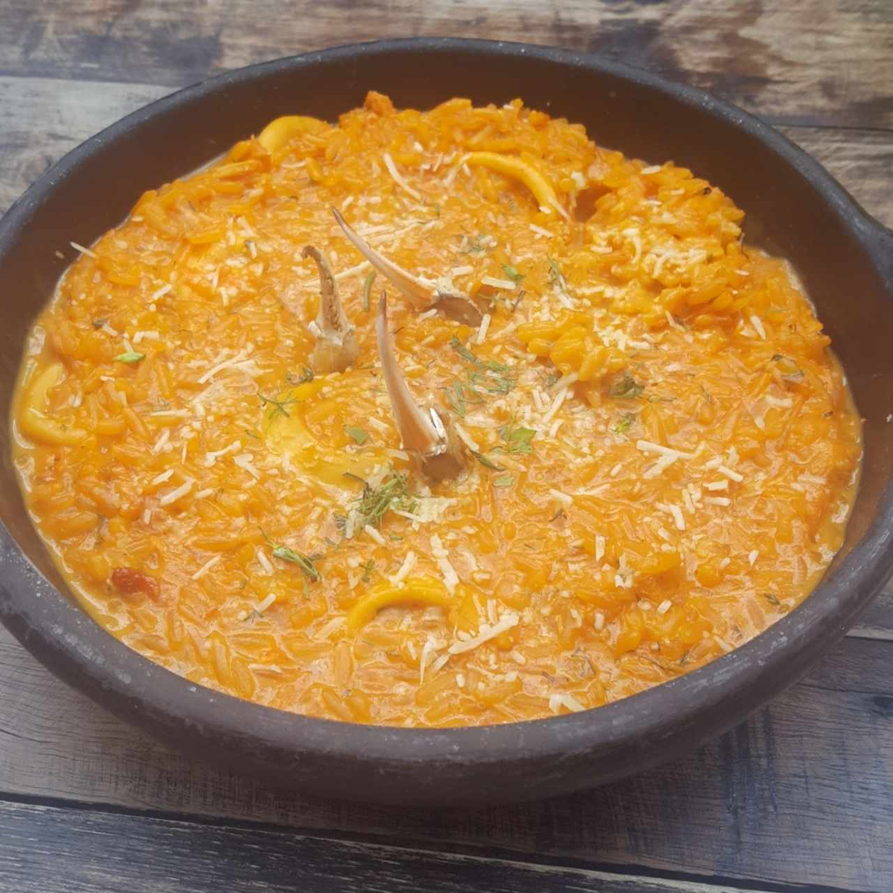 Arroz de Cangrejo