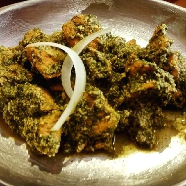 Saag Chicken tikka