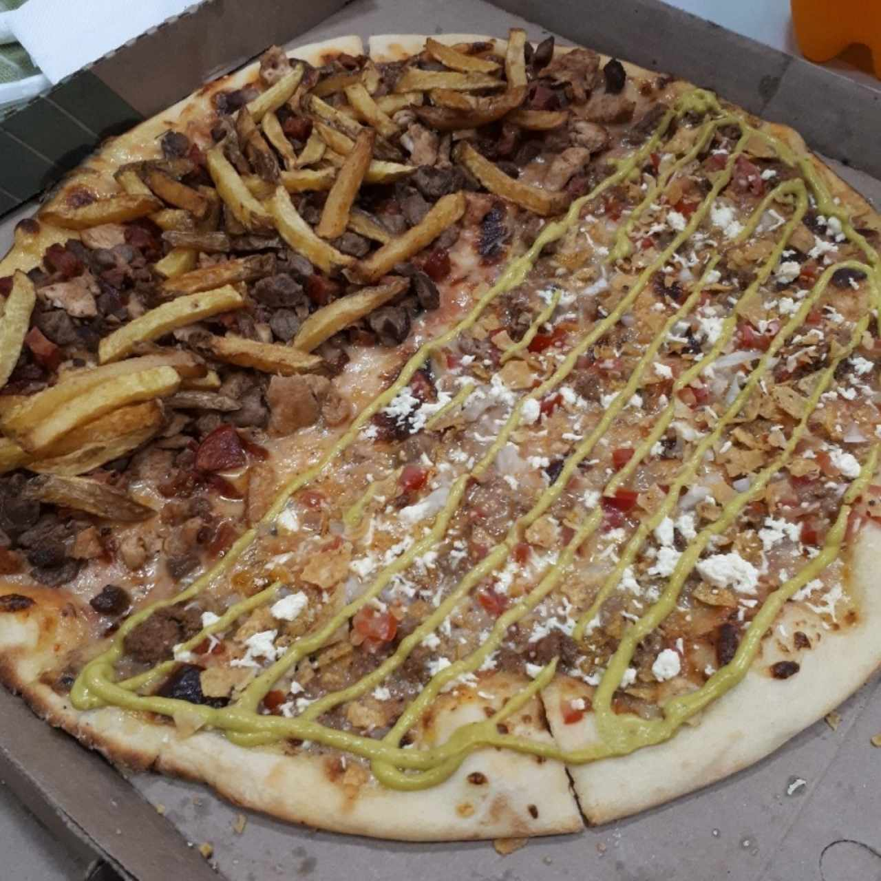 Pizza Parrilla y Taco