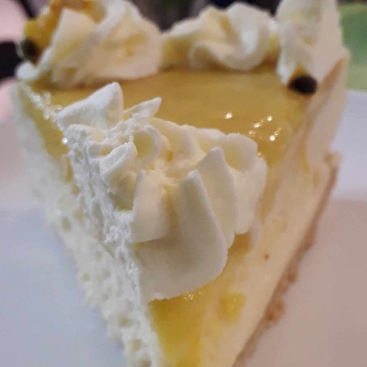 Cheescake de Parchita