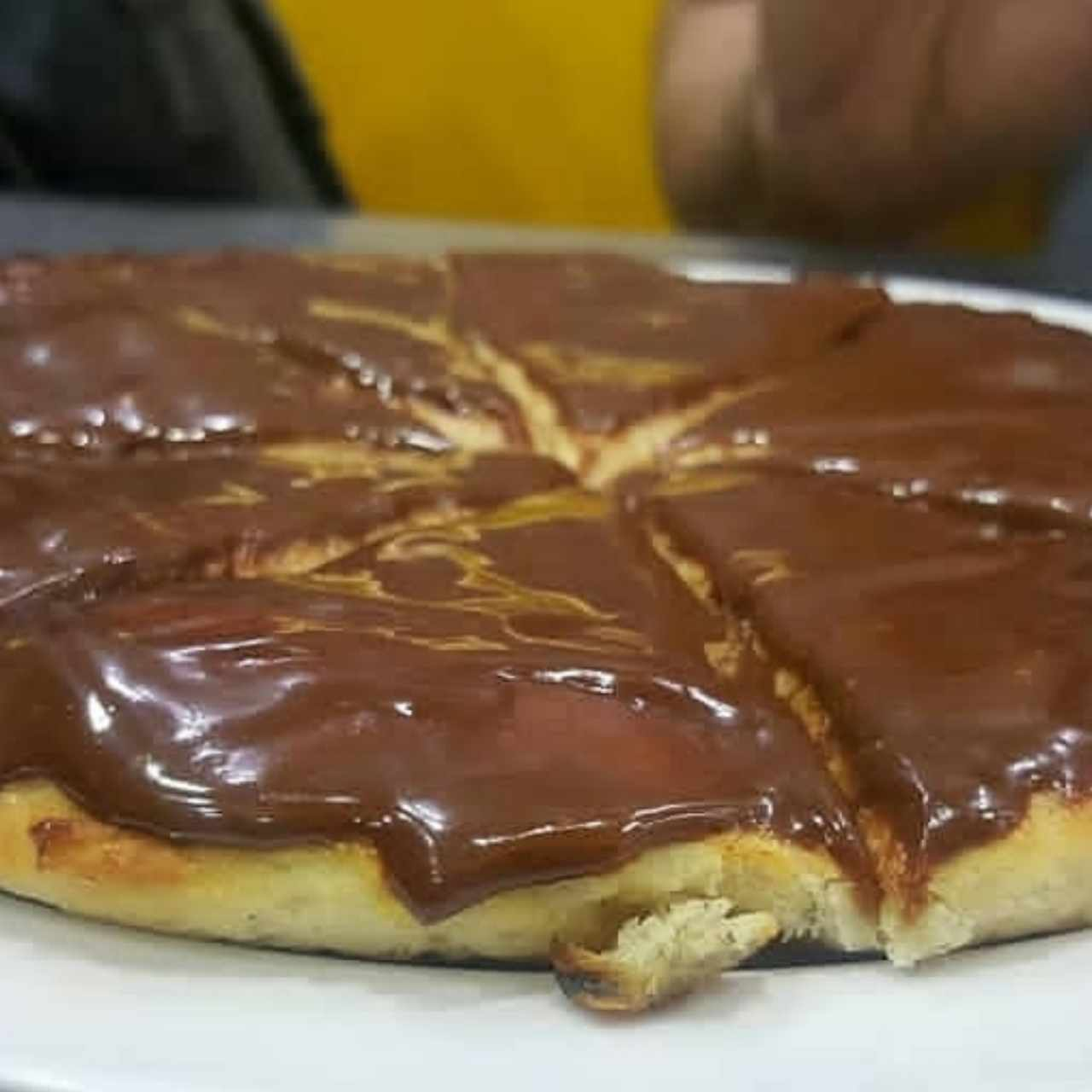 POSTRES - Pizza de Chocolate
