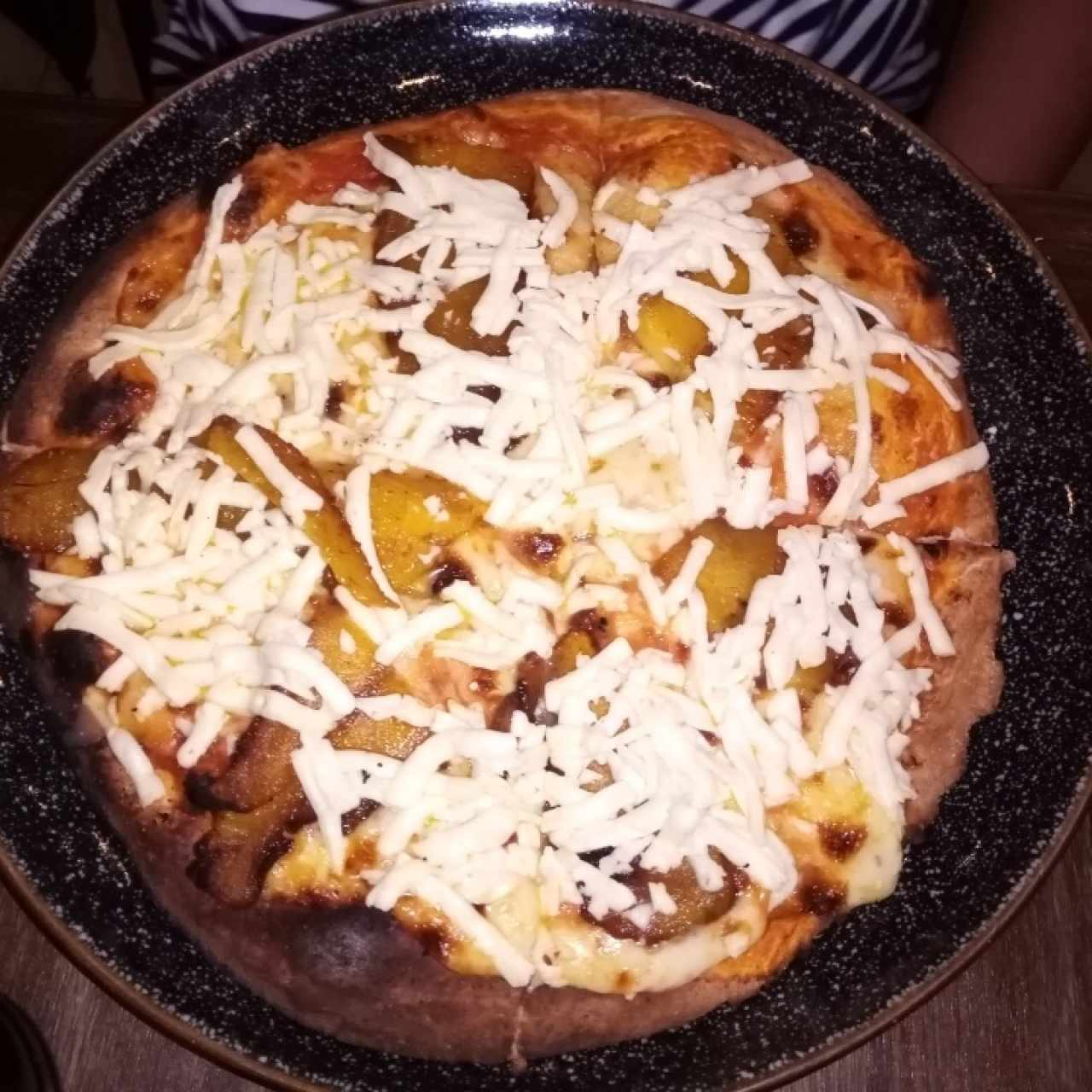 Pizza Plátano con Queso