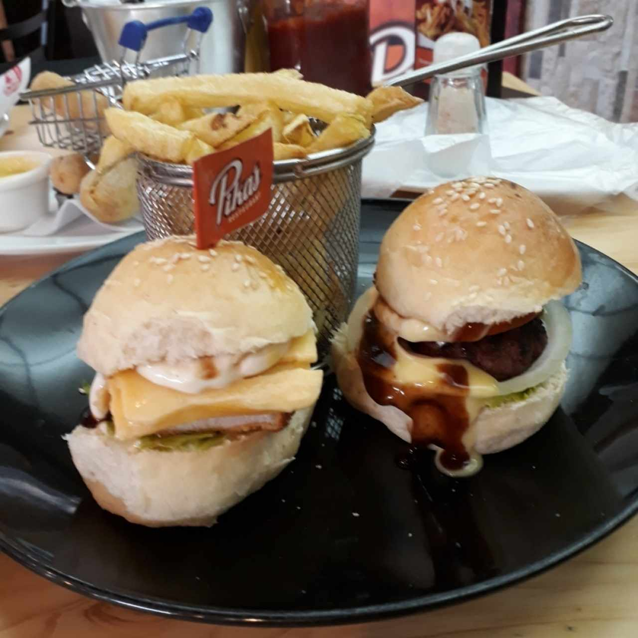 Duo de Mini Hamburguesas