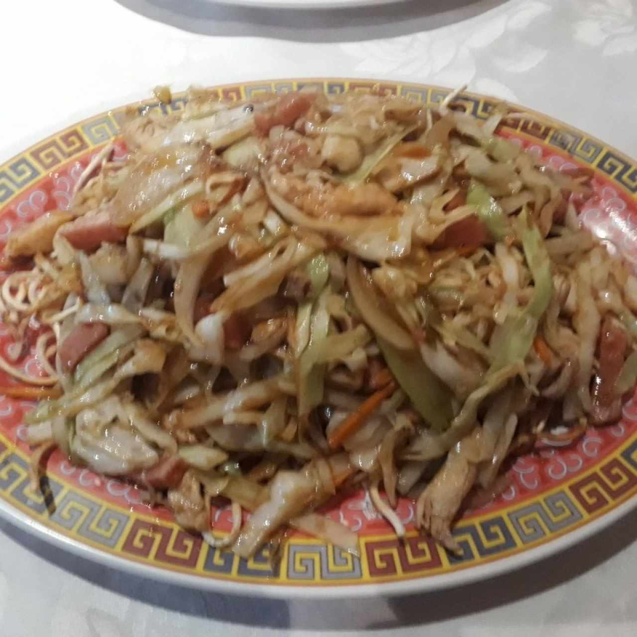 Chow Mein (tallarines fritos) Especial